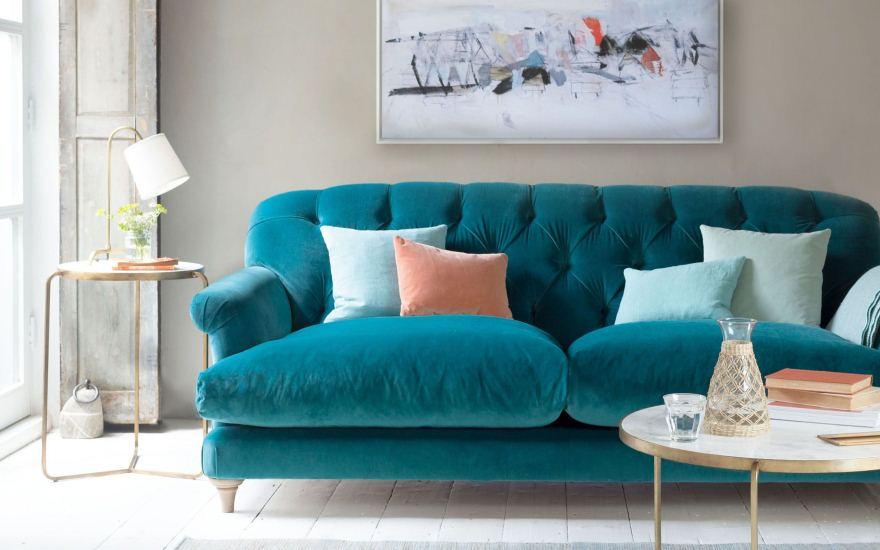 диван з велюру