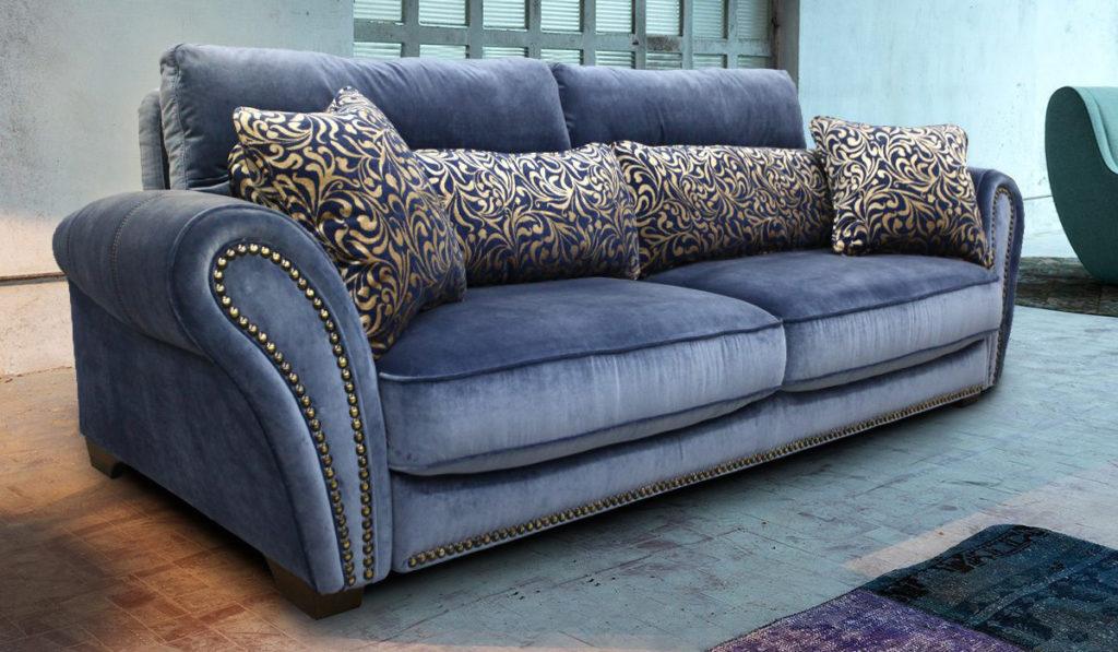 велюровий диван
